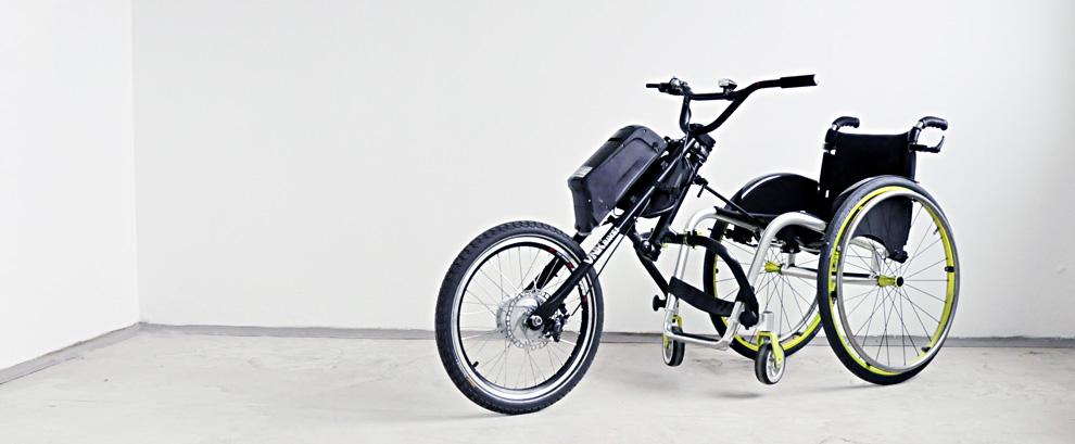 E-Drive přídavný pohon k vozíku ... 84 400 Kč